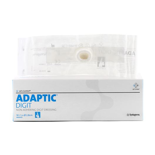 Picture of ADAPTIC NON-ADHERING DIGIT DRESSING LARGE - 10/pkg