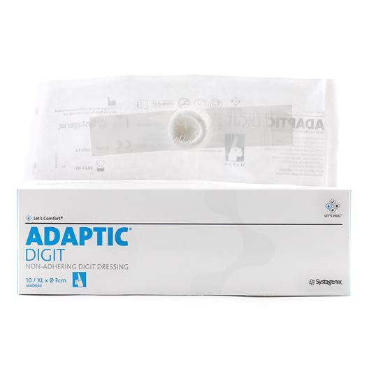 Picture of ADAPTIC NON-ADHERING DIGIT DRESSING XL - 10/pkg