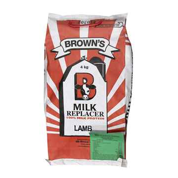 Picture of BROWNS MILK REPLACER LAMB 25-25-30 (GREEN) - 4kg