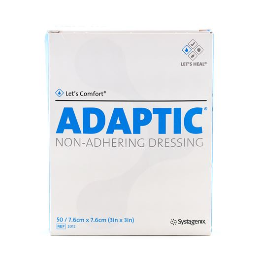 Picture of ADAPTIC NON-ADHERING DRESSING 7.5cm x 7.5cm - 50/pkg