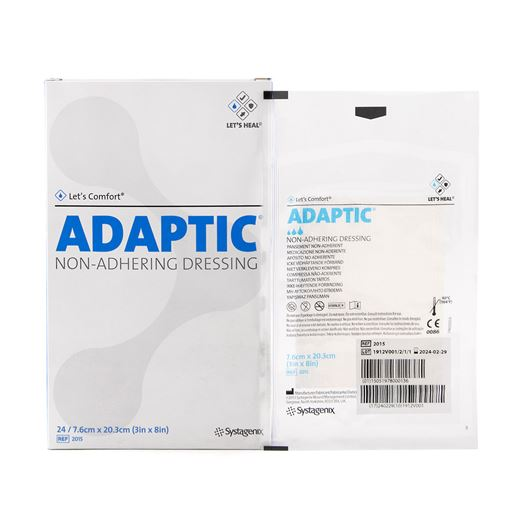 Picture of ADAPTIC NON-ADHERING DRESSING 20cm x 7.5cm - 24/pkg