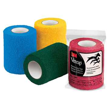 Picture of VETRAP 3in ASSORTED - 12 rolls/box