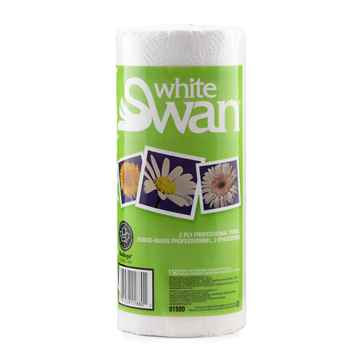 Picture of TOWEL PAPER  ROLL  2ply white 150 sheets -24rolls