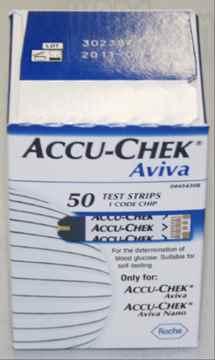 Picture of ACCU-CHEK AVIVA STRIPS - 50's