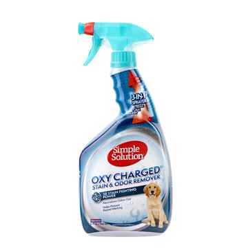 Picture of SIMPLE SOLUTION STAIN & ODOR REMOVER Oxy Charged - 32oz