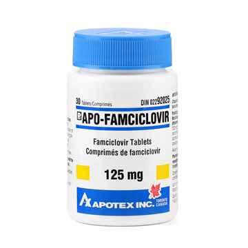 Picture of APO FAMCICLOVIR TABS 125mg - 30s