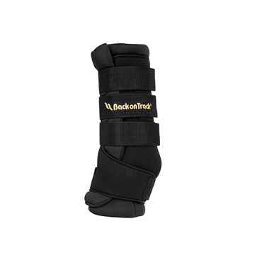 Picture of BACK ON TRACK ROYAL QUICK WRAP PAIR BLACK MEDIUM 16in