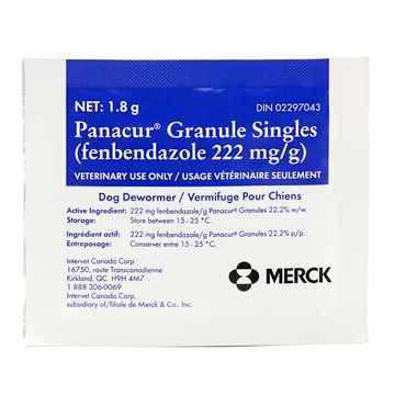 Picture of PANACUR GRANULE 1.8g PACKAGE- EACH