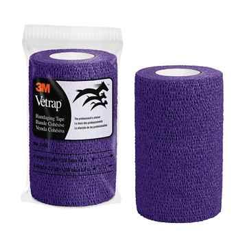 Picture of VETRAP 4in x 5 yds Purple - ea