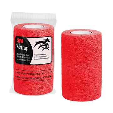 Picture of VETRAP 4in x 5 yds Red - ea
