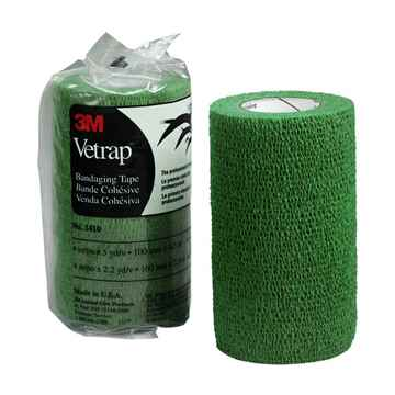 Picture of VETRAP 4in x 5 yds Hunter Green - 18 rolls/box