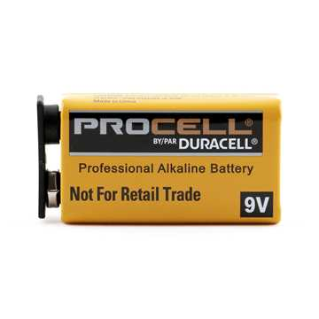 Picture of BATTERY PROCELL 9v  - ea