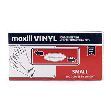 Picture of GLOVES EXAM VINYL POWDER FREE SMALL - 100s