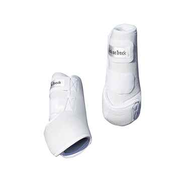 Picture of BACK ON TRACK EXERCISE BOOTS FRONT WHITE MEDIUM