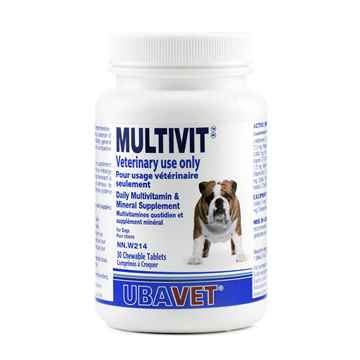 Picture of UBAVET MULTIVIT VITAMIN CHEW TABS FOR DOGS - 30's
