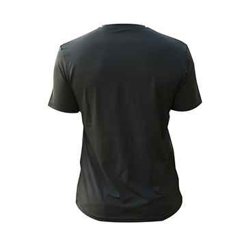 Picture of BACK ON TRACK T-SHIRT BLK SMALL SIZE 38