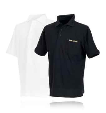 Picture of BACK ON TRACK POLO SHIRT BLK XLARGE