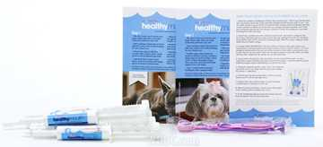 Picture of HEALTHYMOUTH DOG TOOTHPASTE REFILL KIT SMALL BLUEBERRY