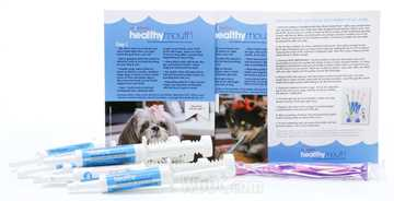 Picture of HEALTHYMOUTH DOG TOOTHPASTE REFILL KIT ORIGINAL SMALL 15ml