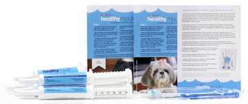 Picture of HEALTHYMOUTH DOG TOOTHPASTE REFILL KIT M/L BLUEBERRY