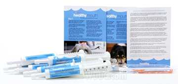 Picture of HEALTHYMOUTH DOG TOOTHPASTE REFILL KIT M/L ORIGINAL 30ml (so)