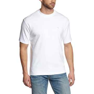 Picture of BACK ON TRACK T-SHIRT MEDIUM WHITE