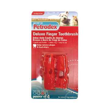 Picture of PETRODEX  DELUXE FINGER TOOTHBRUSHES - 2/pk