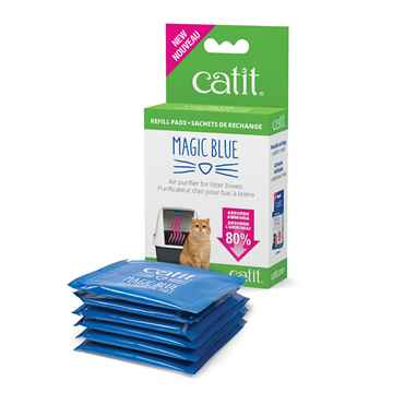 Picture of CATIT MAGIC BLUE LITTER BOX AIR PURIFIER Refill Pads - 6/box