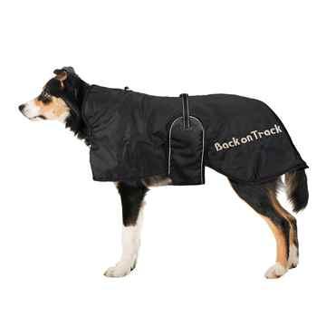 Picture of BACK ON TRACK DOG RUG BLACK 63cm