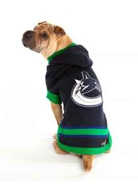 Picture of CLOTHING K/9 NHL HOODED SWEATER Small - Vancouver Canucks(d)