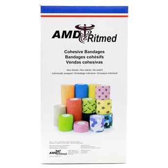 Picture of COHESIVE BANDAGE 2in MIX PRINT - 36/box