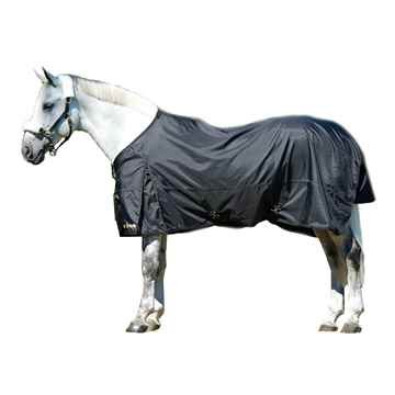 Picture of BACK ON TRACK ALL PURPOSE TURN OUT RUG BLACK 75in