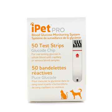 Picture of IPET PRO GLUCOSE TEST STRIPS - 50s
