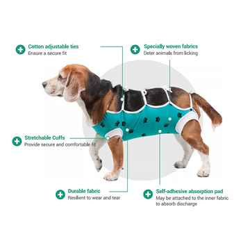 Picture of AFTER SURGERY WEAR VetMedWear 8.7in - X Small