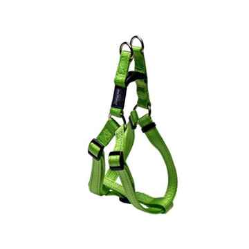 Picture of HARNESS ROGZ UTILITY STEP IN HARNESS Snake Lime - Medium(tu)