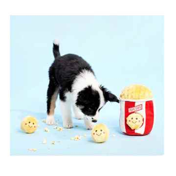 Picture of TOY DOG ZIPPYPAWS BURROWS - Popcorn Bucket