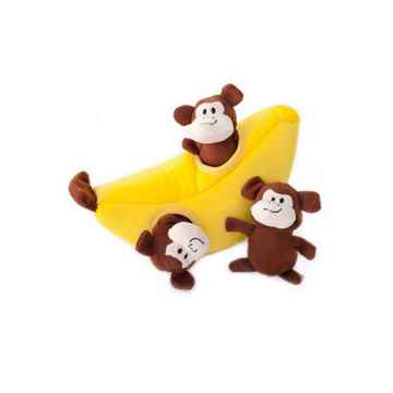 Picture of TOY DOG ZIPPYPAWS BURROWS - Monkey'n Banana