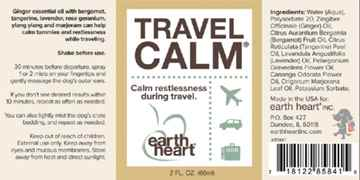 Picture of EARTH HEART CANINE TRAVEL CALM AROMATHERAPY  Mist - 60ml