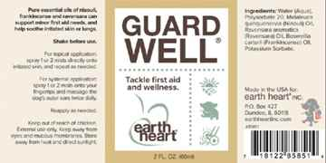 Picture of EARTH HEART CANINE GUARD WELL AROMATHERAPY  Mist - 60ml