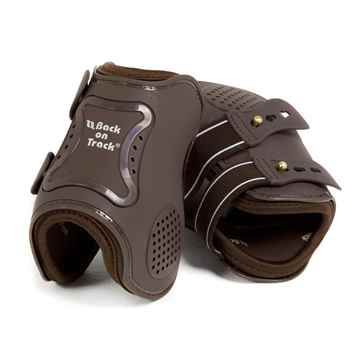 Picture of BACK ON TRACK ROYAL FETLOCK BOOTS BROWN COB SIZE