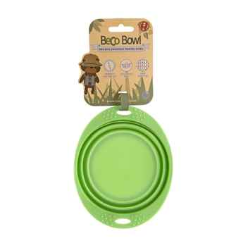 Picture of BOWL SILICONE TRAVEL BOWL Green - 0.38 liters