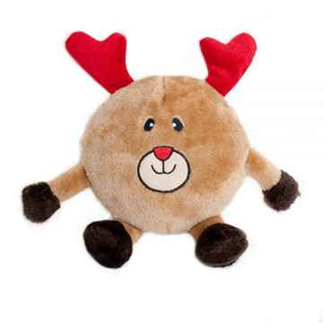 Picture of XMAS HOLIDAY ZIPPYPAWS Brainey -Reindeer (nr)