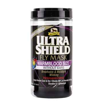 Picture of ULTRASHIELD HORSE WARMBLOOD FLY MASK without Ears