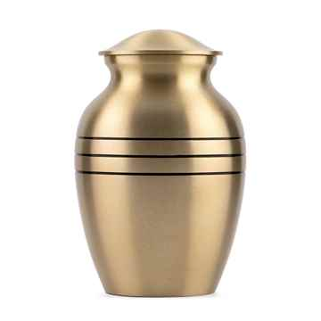 Picture of CREMATION  Urn Classic Bronze (J0316A) - Small