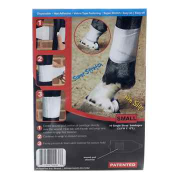 Picture of EQUINE BANDAFLEX  Small 3.5inW x 12inL (J1379A) - 10/pk