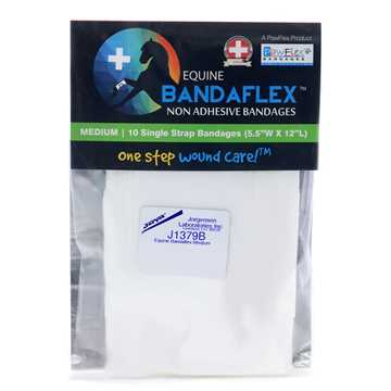 Picture of EQUINE BANDAFLEX  Medium 5.5inW x 12inL (J1379B) - 10/pk