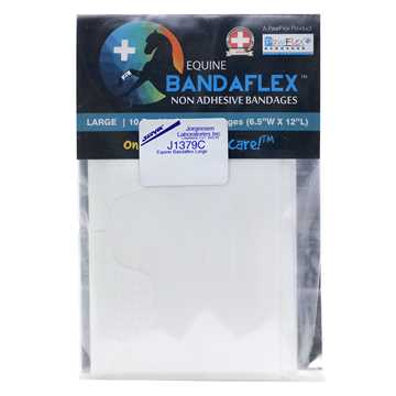 Picture of EQUINE BANDAFLEX  Large 6.5inW x 12inL (J1379C) - 10/pk