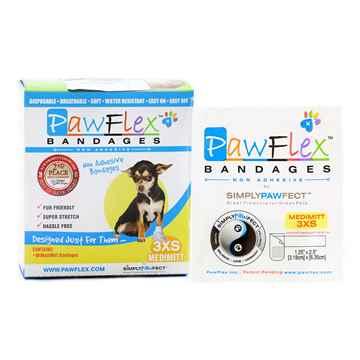 Picture of PAWFLEX MEDIMITT BANDAGE XXX Small (J1263A) - 10/box