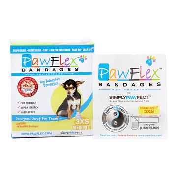 Picture of PAWFLEX MEDIMITT BANDAGE XX Small (J1263B) - 10/box