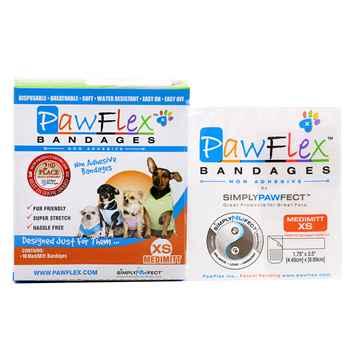 Picture of PAWFLEX MEDIMITT BANDAGE X Small (J1263C) - 10/box